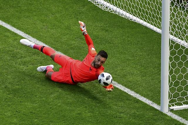 France goalkeeper Hugo Lloris says landmark 100th cap will mean nothing if they fail to beat Peru (AFP Photo/Luis Acosta)