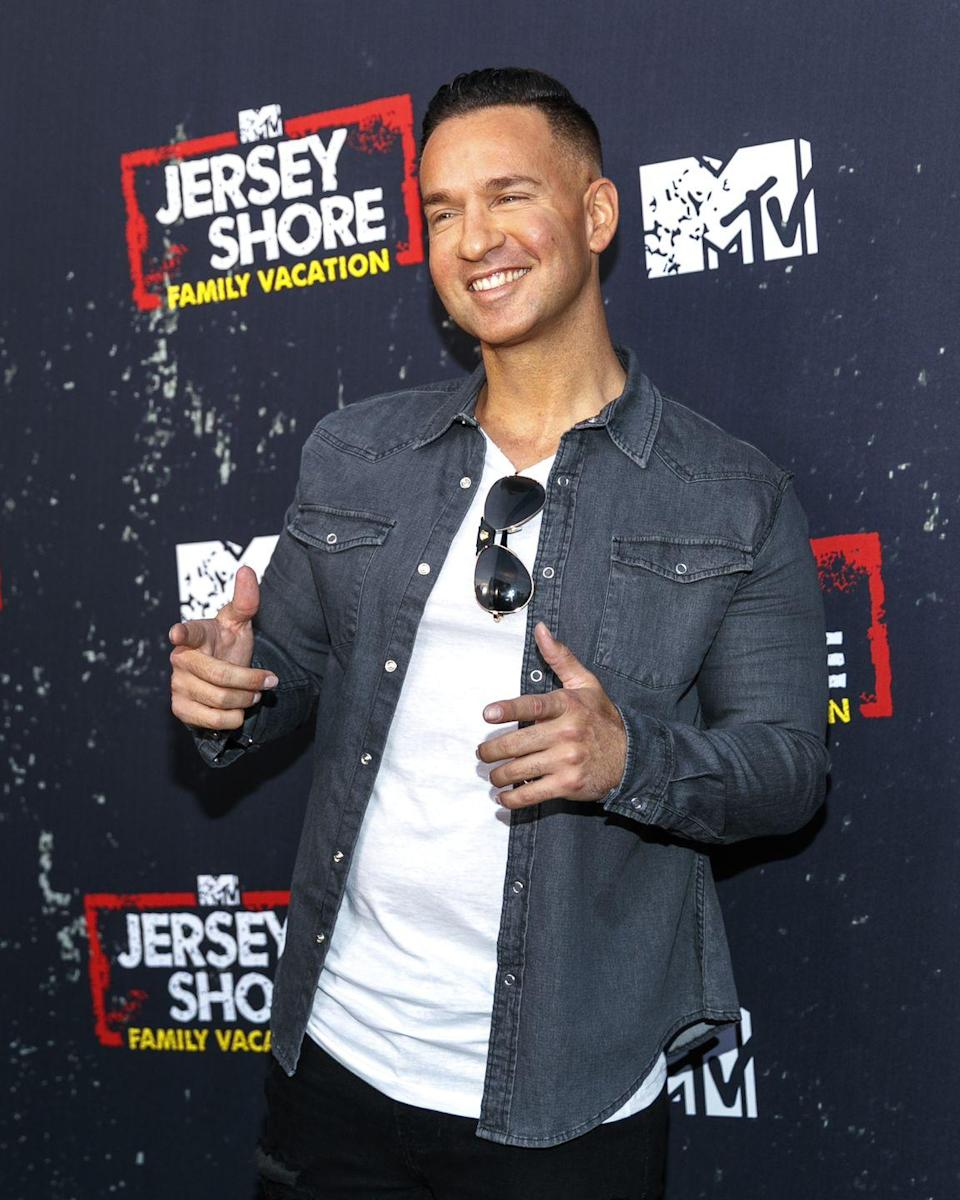 """<p>Although he's one of the show's breakout stars, The Situation's, well, situation is a bit more complicated. He earned $150,000 an episode on<em> Jersey Shore</em>, appeared on <em>Dancing With the Star</em><em>s</em> and <em>Celebrity Big Brother,</em> wrote several books, and had several other side businesses. But these days, <a href=""""https://www.celebritynetworth.com/richest-celebrities/mike-situation-sorrentino-net-worth/"""" rel=""""nofollow noopener"""" target=""""_blank"""" data-ylk=""""slk:Celebrity Net Worth"""" class=""""link rapid-noclick-resp""""><em>Celebrity Net Worth</em></a> reports that The Situation's net worth is estimated at only $300,000 thanks to <a href=""""https://www.cosmopolitan.com/entertainment/a23615830/mike-situation-sorrentino-tax-evasion-sentencing/"""" rel=""""nofollow noopener"""" target=""""_blank"""" data-ylk=""""slk:drama with his taxes"""" class=""""link rapid-noclick-resp"""">drama with his taxes</a>. Say it with me: yikes.</p>"""