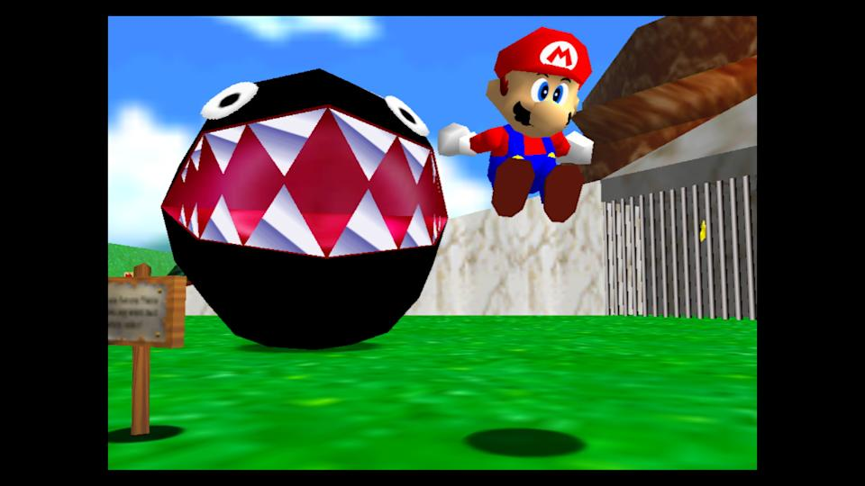 Super Mario 64 on Switch