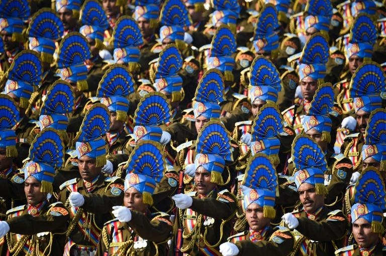 January 26 is the anniversary of India's adoption of its constitution in 1950 (AFP Photo/Money SHARMA)