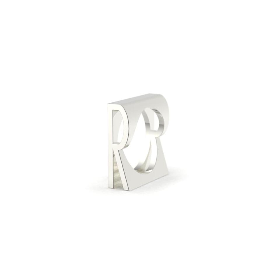 """<br><br><strong>Type Berlin</strong> Letter R Alphabet Initial Ring, $, available at <a href=""""https://www.wolfandbadger.com/uk/letter-r-alphabet-initial-ring/?"""" rel=""""nofollow noopener"""" target=""""_blank"""" data-ylk=""""slk:Wolf & Badger"""" class=""""link rapid-noclick-resp"""">Wolf & Badger</a>"""