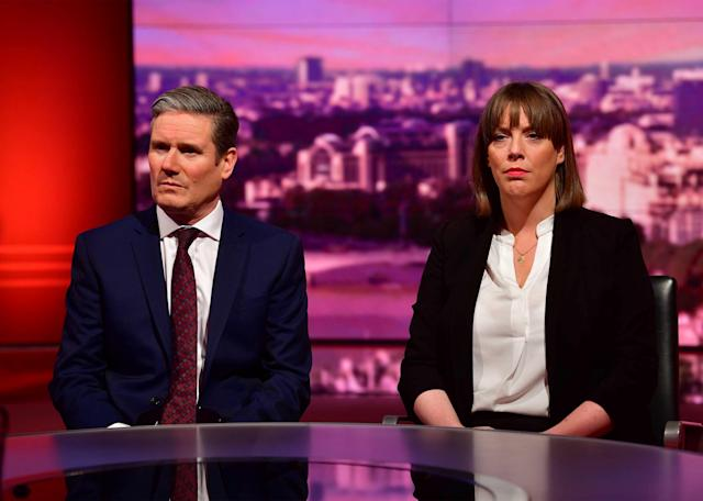 Shadow Brexit Secretary Keir Starmer also appeared on the show. (Reuters)