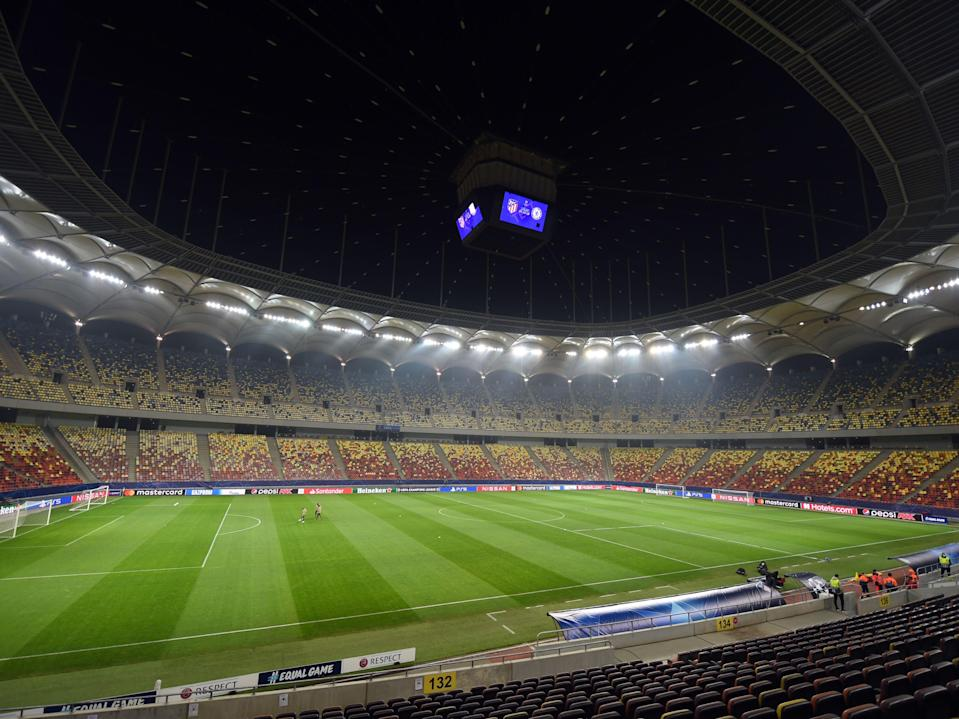 <p>Liverpool face RB Leipzig in Budapest</p> (AFP via Getty Images)
