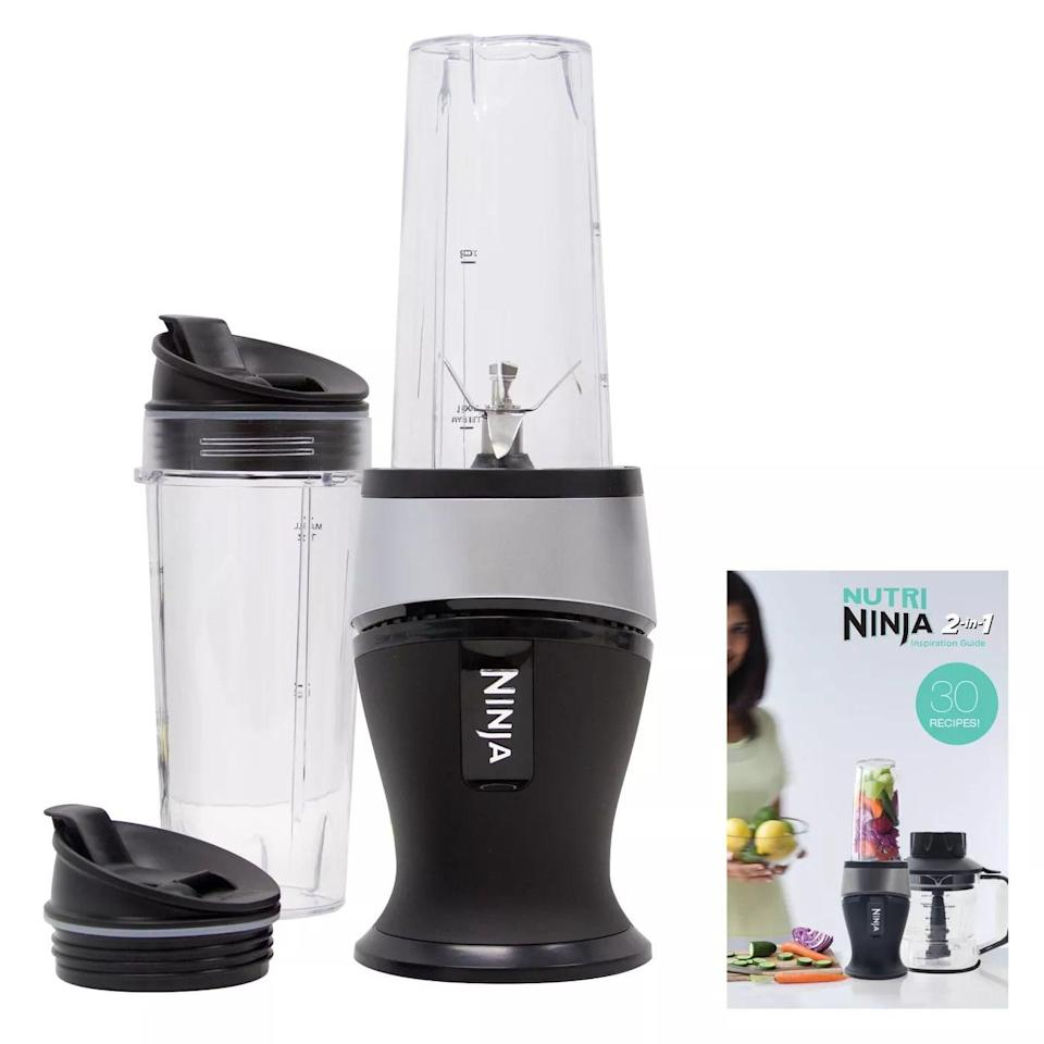 <p>Creat yummy smoothies with the <span>Ninja Fit</span> ($50) blender.</p>