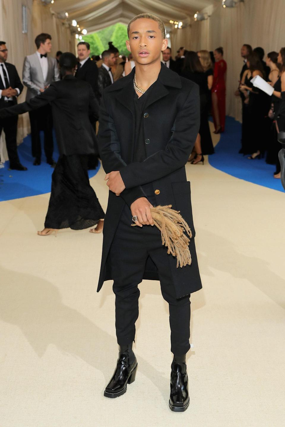 """<h1 class=""""title"""">Jaden Smith in Louis Vuitton</h1> <cite class=""""credit"""">Photo: Getty Images</cite>"""