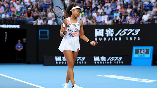 Naomi Osaka was full of self-reflection after her Australian Open title defence ended at the hands of teenager Coco Gauff.