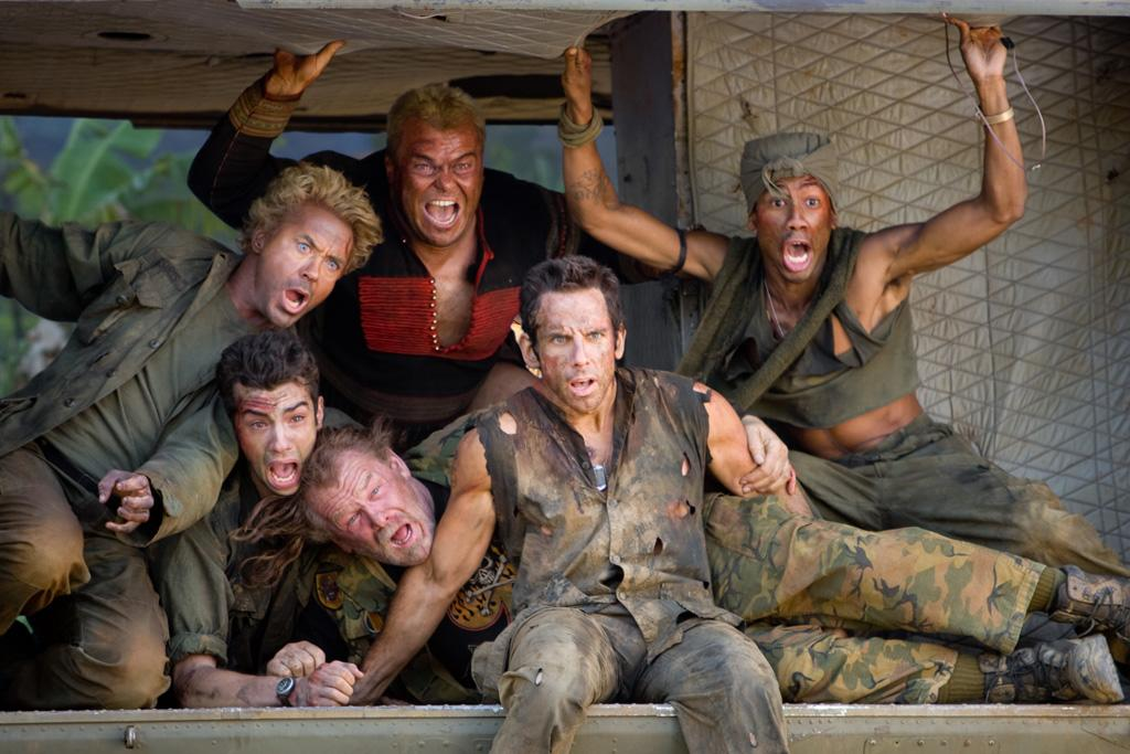 """1 NOMINATION -- <a href=""""http://movies.yahoo.com/movie/1809912814/info"""">Tropic Thunder</a>  Best WTF Moment"""