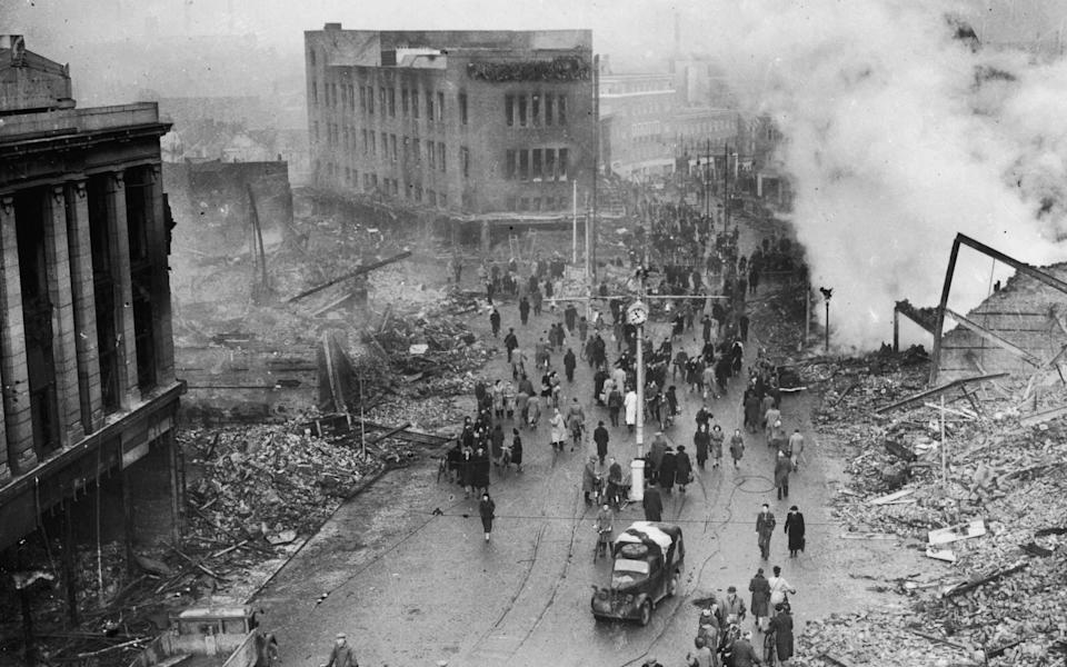 Coventry Blitz - Getty images/Keystone/Hulton Archive