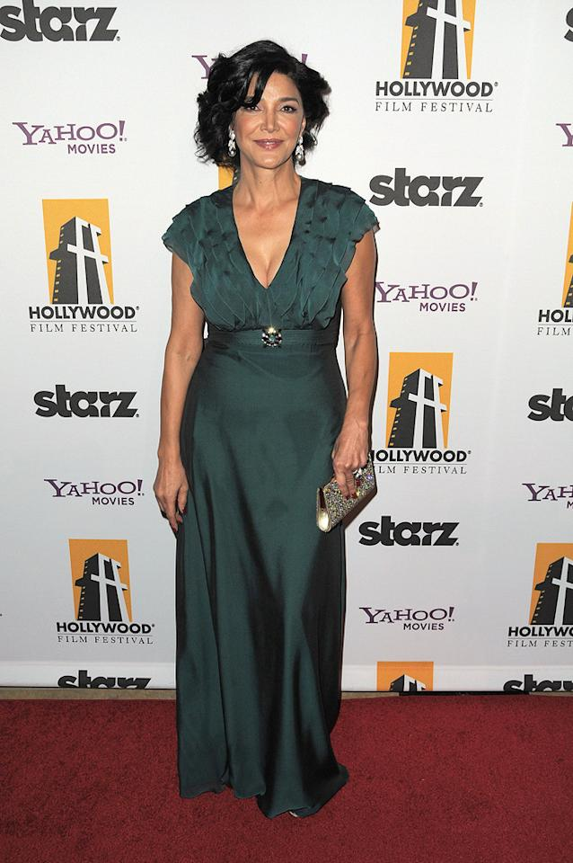 """<a href=""""http://movies.yahoo.com/movie/contributor/1803468953"""">Shohreh Aghdashloo</a> at the 13th Annual Hollywood Awards Gala held at the Beverly Hilton Hotel - 10/26/2009"""