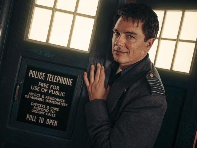 Iconic: Barrowman as Captain Jack in Doctor Who: Revolution of the DaleksBBC