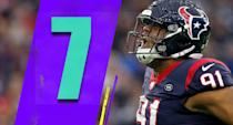 <p>It was a bit surprising to see Deshaun Watson have 13 rushing attempts in Week 17, his most of the season. He had 10 rushing attempts on Oct. 7, and hadn't reached double digits in any other game. (Carlos Watkins) </p>