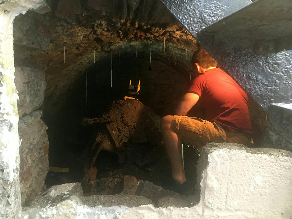 Man finds secret 120-year-old tunnel under his house after ...