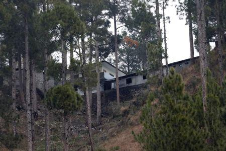 A general view of a building, which according to residents was a madrasa (religious school) is seen near the site where Indian military aircrafts struck on February 26, according to Pakistani officials, in Jaba village, near Balakot, Pakistan, March 7, 2019. REUTERS/Akhtar Soomro