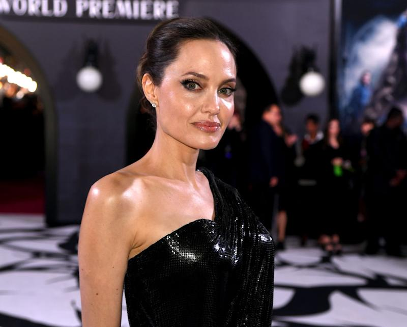 """Angelina Jolie arrives at the premiere of """"Maleficent: Mistress Of Evil"""" on Sept. 30 in L.A. (Photo: Kevin Winter/Getty Images)"""