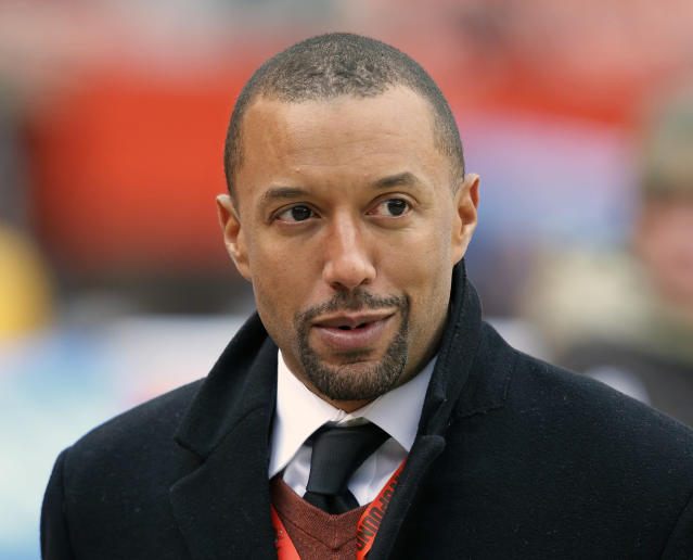 Cleveland Browns vice president of football operations Sashi Brown was fired on Thursday. (AP)