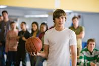 """<p>Right at the height of Efron's teen-king fame in 2009, he starred in <strong>17 Again</strong> as Mike, a 37-year-old (played by <a class=""""link rapid-noclick-resp"""" href=""""https://www.popsugar.com/Matthew-Perry"""" rel=""""nofollow noopener"""" target=""""_blank"""" data-ylk=""""slk:Matthew Perry"""">Matthew Perry</a>) who becomes his 17-year-old self again through a magical accident. Suddenly turned into his teenage self but stuck in his current era, Mike poses as his adult best friend's son to enroll in high school and try to figure out how he got turned into a teenager and, more importantly, how to undo it. During his time as a teenager, though, he starts to learn more about his estranged wife and their teenage children, leading him to figure out the problems in their life that he hadn't been able to see before.</p> <p><a href=""""http://www.netflix.com/title/70107406"""" class=""""link rapid-noclick-resp"""" rel=""""nofollow noopener"""" target=""""_blank"""" data-ylk=""""slk:Watch 17 Again on Netflix"""">Watch <strong>17 Again</strong> on Netflix</a>.</p>"""