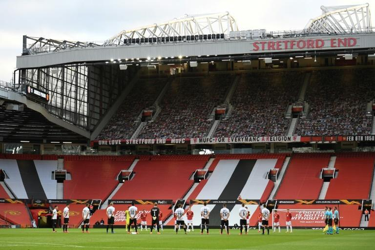The lack of fans at Old Trafford has hit Manchester United's finances