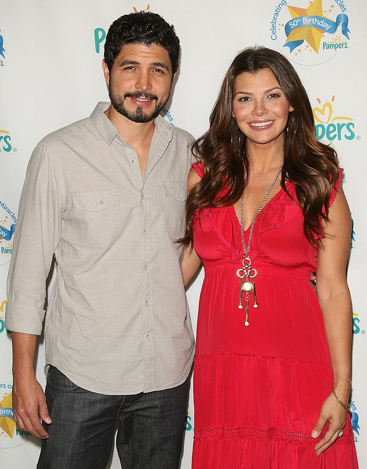 Filmmaker Alejandro Monteverde and actress Ali Landry attend the Pampers 50th birthday celebration at SIR Stage 37 on June 16, 2011 in New York City. (Photo by Jim Spellman/WireImage)