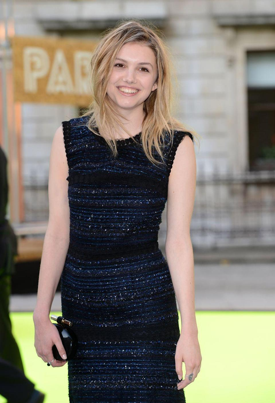 <p>Hannah Murray, who plays Gilly, in 2013.</p>