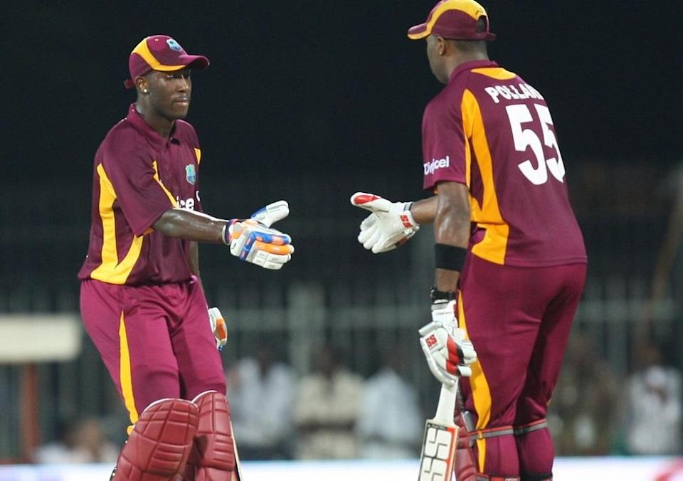 Andre Russell and Kieron Pollard, T20I Cricket, West Indies
