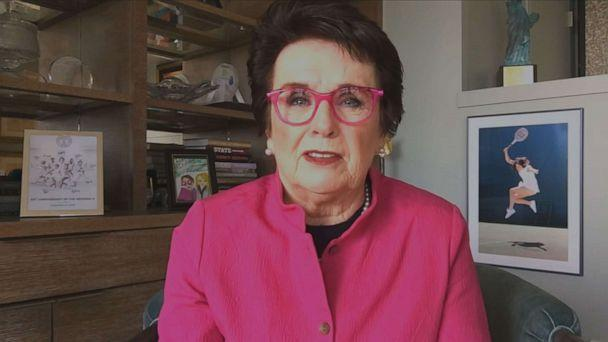 PHOTO: Billie Jean King joined 'GMA' to discuss women's leadership and her new Audible documentary 'The Dollar Rebellion.' (ABC)