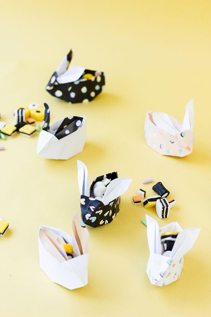 "<p>Teenage guys and gals will appreciate the craftsmanship behind these treat holders—especially if they hold his favorite candy. </p><p>Get the tutorial at <a href=""https://studiodiy.com/2014/04/08/diy-origami-easter-bunny-baskets-free-printable/"" rel=""nofollow noopener"" target=""_blank"" data-ylk=""slk:Studio DIY."" class=""link rapid-noclick-resp"">Studio DIY.</a></p><p><a class=""link rapid-noclick-resp"" href=""https://www.amazon.com/Colorbok-Designer-Paper-Wild-Free/dp/B01KG9PFPE/?tag=syn-yahoo-20&ascsubtag=%5Bartid%7C10072.g.30506642%5Bsrc%7Cyahoo-us"" rel=""nofollow noopener"" target=""_blank"" data-ylk=""slk:SHOP PAPER"">SHOP PAPER</a></p>"