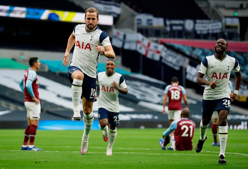 Harry Kane scored two and provided an assistPOOL/AFP via Getty Images