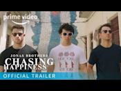 "<p>Featuring deeply personal interviews and never before seen footage Chasing Happiness chronicles the Jonas Brothers' meteoric rise to fame and their painful break up in 2013, as they prepare for their first album in six years.</p><p><a href=""https://www.youtube.com/watch?v=eS0PVYreMzo"" rel=""nofollow noopener"" target=""_blank"" data-ylk=""slk:See the original post on Youtube"" class=""link rapid-noclick-resp"">See the original post on Youtube</a></p>"
