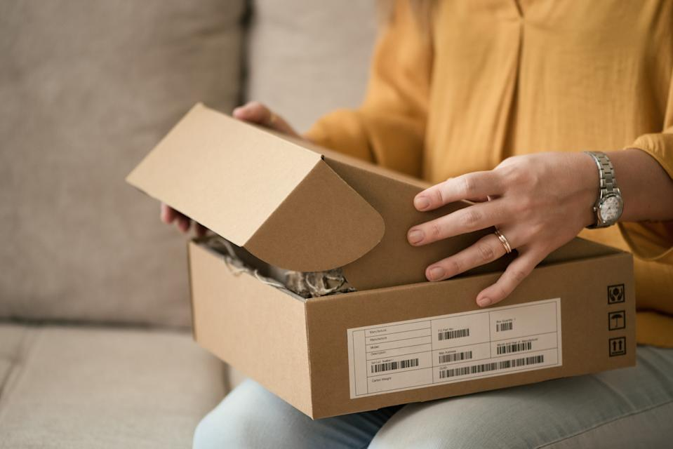 Women won't return an item which costs less than £8.56 and men won't if it's under £15.70. [Photo: Getty]
