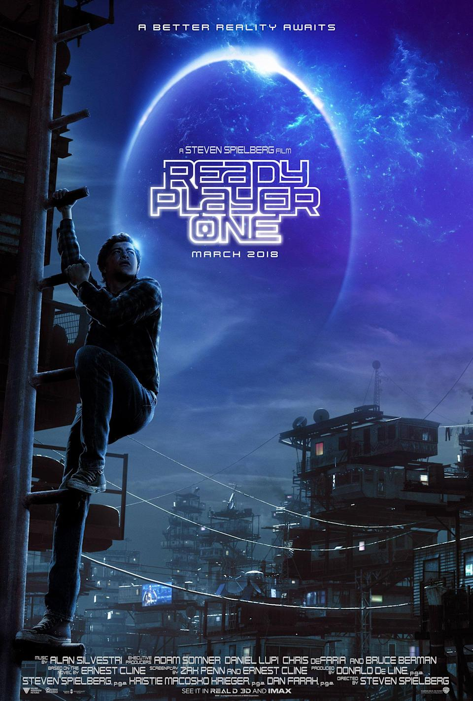 <p>Maybe Steven Spielberg and the makers of this VR fantasy got so preoccupied with the wonderful virtual reality world of the Oasis, they forgot about plain old reality – how else to explain Tye Sheridan's gigantic leg? Wait until you bump into Sheridan's in-game avatar – you could say he's going to run circles around the competition. </p>