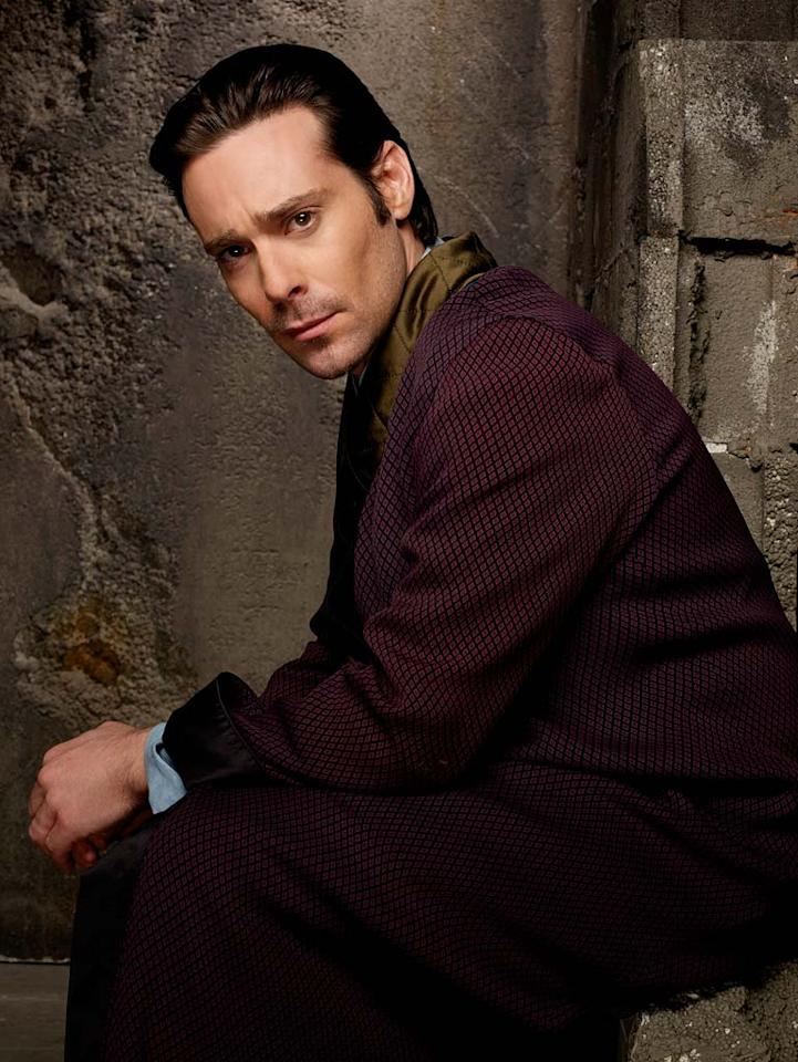 James Callis as Dr. Gaius Baltar in Battlestar Galactica on the Sci Fi Channel.
