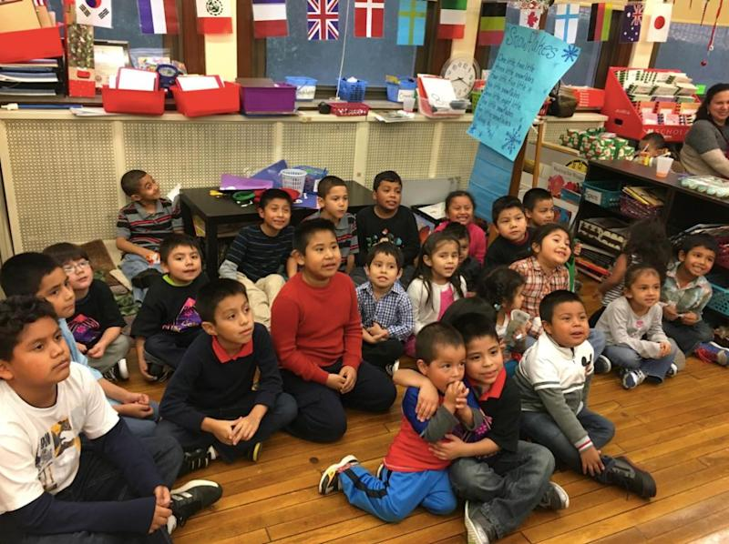 Kids in the Casa San Josecommunity participate inanafter-school program at Beechwood Elementary in 2015.