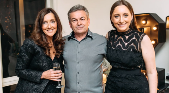 Sarah (right) is speaking out about her dad Borce (centre), who pleaded guilty to the manslaughter of his wife Karen (left). Source: 60 Minutes