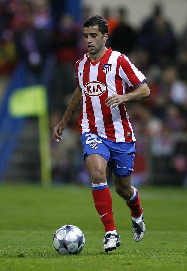 Simao scored against Liverpool when they visited Atletico Madrid in 2008