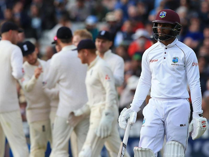 """Curtley Ambrose branded the Edgbaston display """"embarrassing"""" and """"painful to watch"""" (Getty)"""
