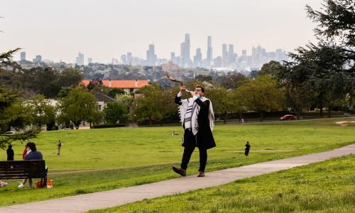 'Everyone wants to hear the shofar': ringing in Jewish new year in locked down Melbourne