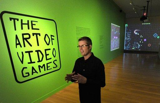 "Chris Melissinos, curator of the exhibition ""The Art of Video Games"" at the Smithsonian Museum in Washington"