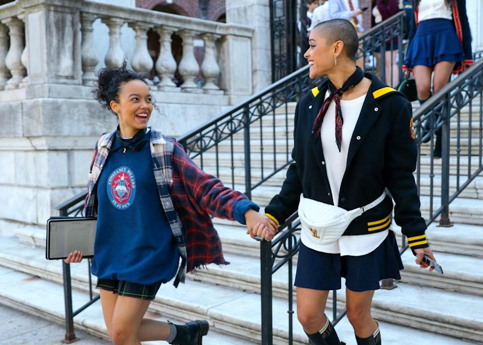 """<p>As Safran previously teased, the series will feature <a href=""""http://www.vulture.com/2019/11/gossip-girl-reboot-producer-promises-more-diverse-leads.html"""" class=""""link rapid-noclick-resp"""" rel=""""nofollow noopener"""" target=""""_blank"""" data-ylk=""""slk:a more inclusive cast than the original"""">a more inclusive cast than the original</a>, including more nonwhite leads and LGBTQ+ characters. """"Representation is everything,"""" Whitney Peak further emphasized in<strong> Cosmo</strong>'s cover story. """"I want all the hers and the hes and the theys and the people of color from all over the world to be able to watch the show and think, <em>That's a person who looks like me. I don't have to be the stereotypical idea of who I am</em>."""" </p> <p>Savannah Smith echoed that same sentiment, adding, """"It's really important for a Black girl, with twists in her hair, to be able to see someone in a position of power who looks like her. And it's also important for kids in the suburbs or kids who don't have a lot of Black friends or friends of color just to generally see us depicted in different ways. I think this could really change things. Maybe they're not learning these things at home, but they're seeing them on <strong><a class=""""link rapid-noclick-resp"""" href=""""https://www.popsugar.com/Gossip-Girl"""" rel=""""nofollow noopener"""" target=""""_blank"""" data-ylk=""""slk:Gossip Girl"""">Gossip Girl</a></strong>. How amazing is that?""""</p>"""