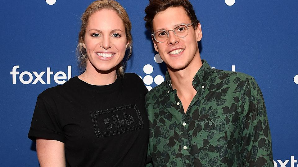 Emily Seebohm and Mitch Larkin, pictured here in 2018.