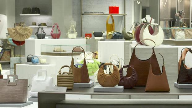 The popularity of handbags hasn't gone anywhere at Saks Fifth Avenue. / Credit: CBS News