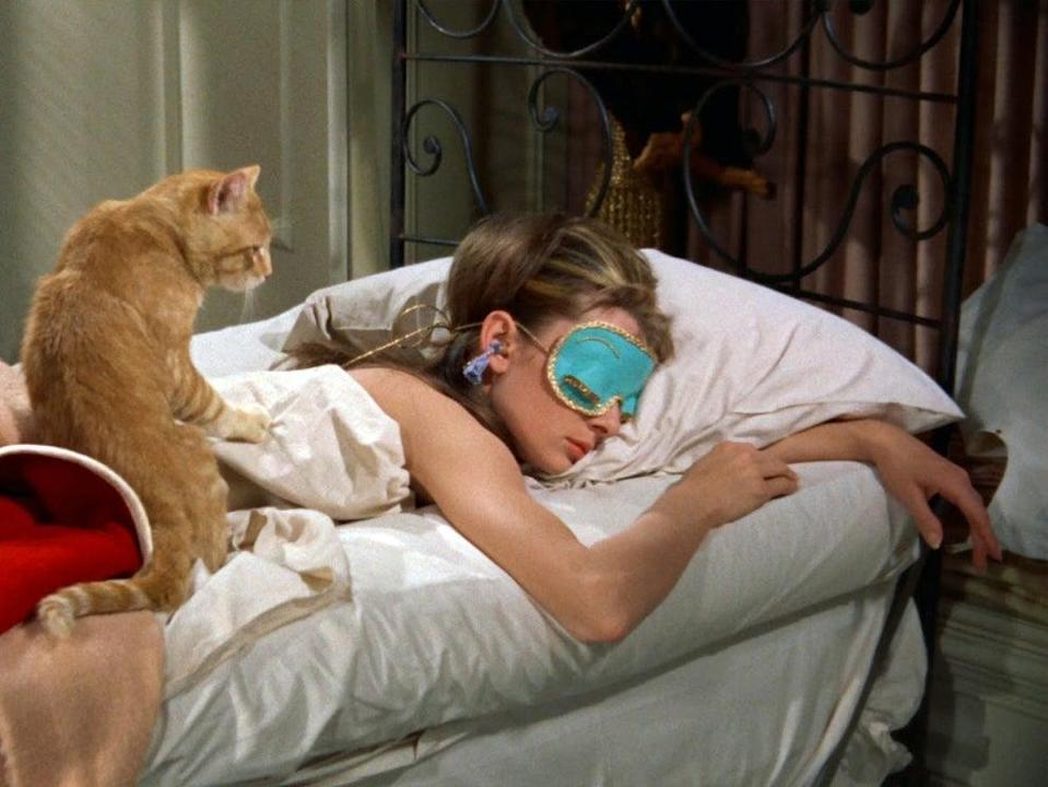 Sleeping masks can ease eye tension, stress and migraines  (Paramount Pictures)