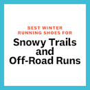 """<p>If you're heading for the hills, forests, or mountains, Romano suggests opting for a winter running shoe with a higher ankle height to ensure they're suitable for deep snow too. """"A high-top, or even more protective fit of a gaiter, booty style shoe that fits snug around the ankles to keep out snow, is going to be a priority for runners navigating trail conditions."""" She also recommends a long and wide-spaced lug to keep snow from accumulating on the outsole, a waterproof upper, and rock plate to protect the foot—spikes are also features to strongly consider. </p>"""
