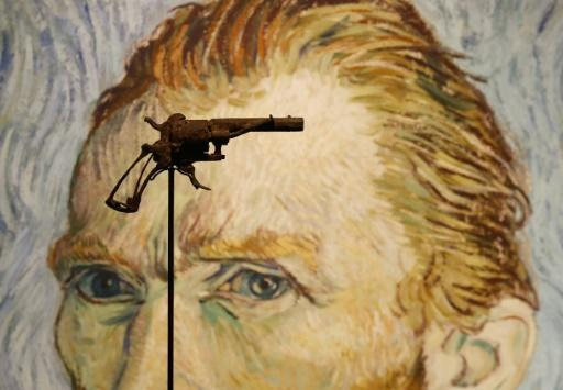 Fatal weapon: The revolver Vincent Van Gogh is believed to have shot himself with was found in a field by a farmer in 1965, 75 years after the painter's death