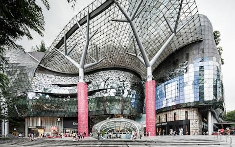 ion shopping mall, singapore - Credit: Atlantide Phototravel