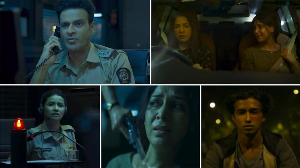 Dial 100 Trailer: Manoj Bajpayee, Neena Gupta And Sakshi Tanwar Promise A  Pacy And Nerve-Wracking Thriller (Watch Video)