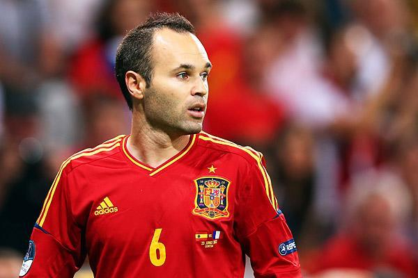 Andrés Iniesta. Getty Images