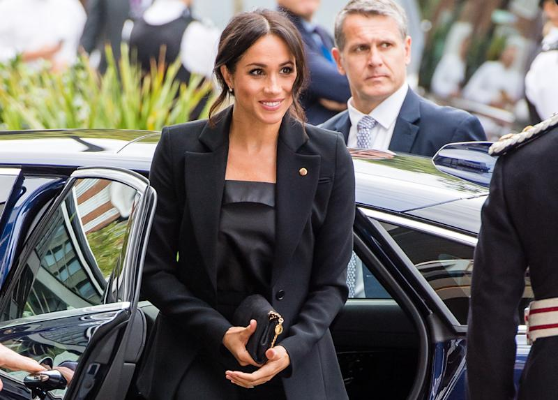 Such a chic look. (Samir Hussein via Getty Images)