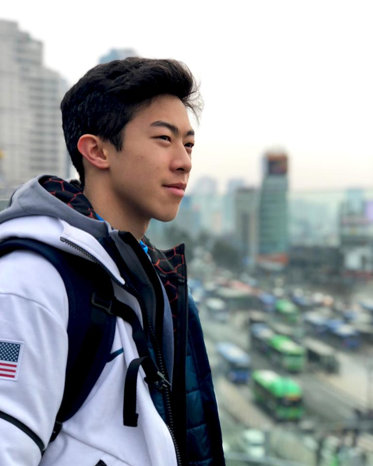 <p>nathanwchen: expectations v reality #oohseoul (Photo via Instagram/nathanwchen) </p>