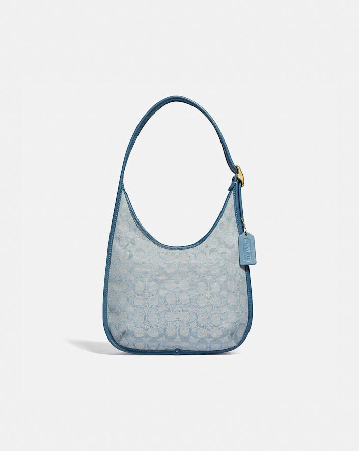 <p>This <span>Coach Ergo Shoulder Bag in Signature Jacquard</span> ($395) also comes in pink and ivory.</p>