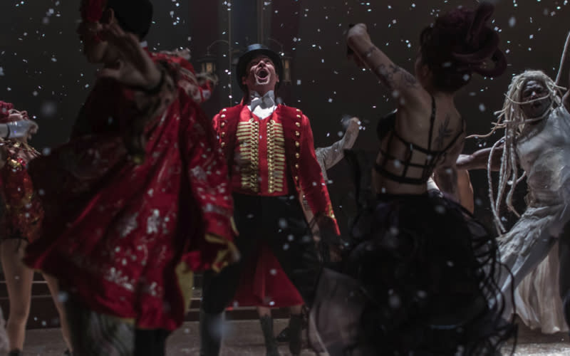 <p>Starring Hugh Jackman, Zac Efron and Zendaya, 'The Greatest Showman' left the nation humming the musical's hits in the bathtub. With news of a world tour, the silver screen flick will only continue to grow in popularity next year. <em>[Photo: Rex]</em> </p>